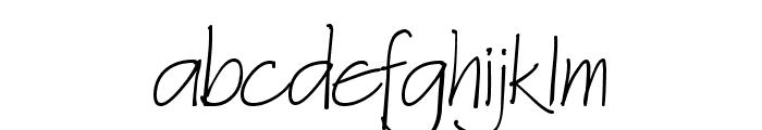 Architext Font LOWERCASE
