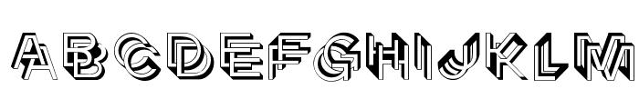Architypogra Font LOWERCASE