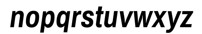 Archivo Narrow Bold Italic Font LOWERCASE