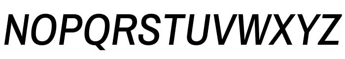 Archivo Narrow Medium Italic Font UPPERCASE