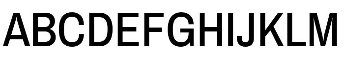Archivo Narrow Medium Font UPPERCASE