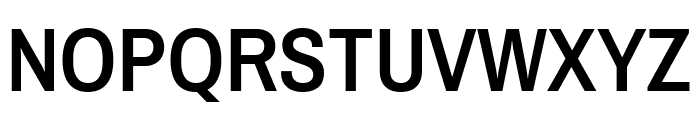 Archivo Narrow SemiBold Font UPPERCASE