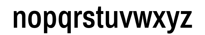 Archivo Narrow SemiBold Font LOWERCASE