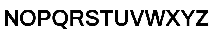 Archivo SemiBold Font UPPERCASE