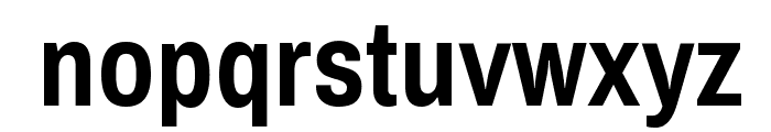 ArchivoNarrow-Bold Font LOWERCASE