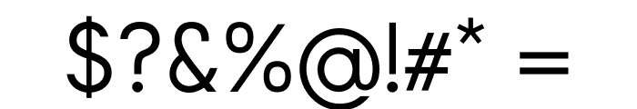 Arcon Font OTHER CHARS