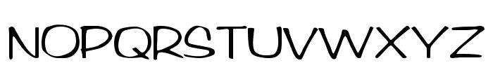 Arctic Regular Font UPPERCASE