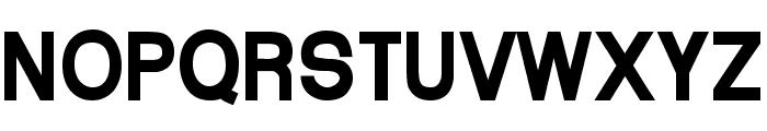 Arctik 5 Font UPPERCASE