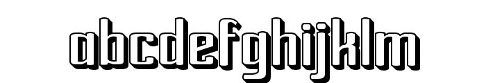 Ardour 3D GM Font LOWERCASE