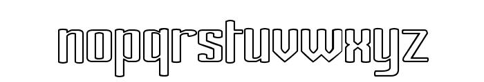 Ardour Outline Font LOWERCASE