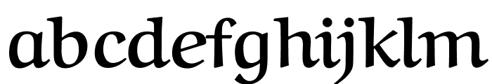 Aref Ruqaa Bold Font LOWERCASE