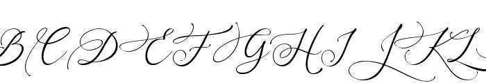 Arellia Font UPPERCASE