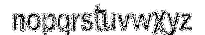 Arenatox font DEMO Font LOWERCASE