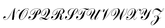 Arenski Regular Font UPPERCASE