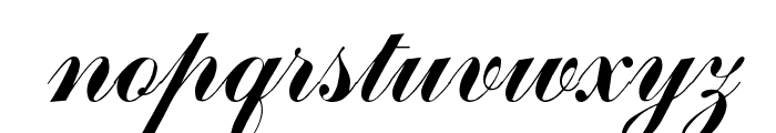 Arenski Regular Font LOWERCASE
