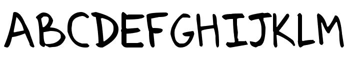 Arenzi Font UPPERCASE