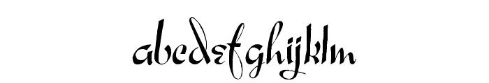 Ares Modernos Regular Font LOWERCASE