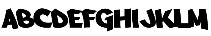Arfmoochikncheez Font UPPERCASE