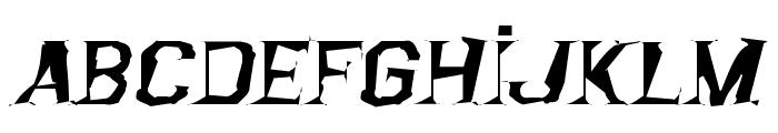Argentina Austral Font LOWERCASE
