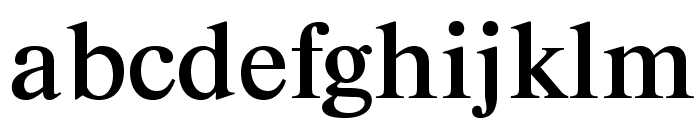 ArgentineOpti-Two Font LOWERCASE