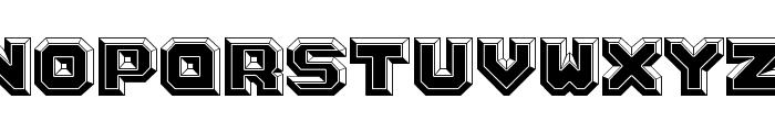 Argentum Black Font UPPERCASE
