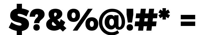 Argentum Novus Black Font OTHER CHARS