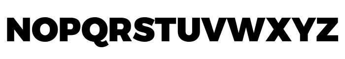 Argentum Novus Black Font UPPERCASE