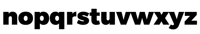 Argentum Novus Black Font LOWERCASE