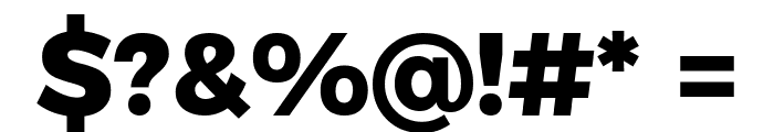 Argentum Novus ExtraBold Font OTHER CHARS