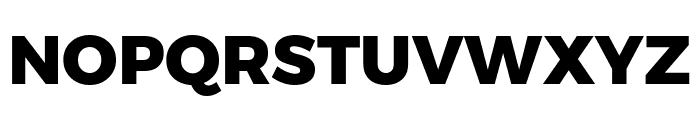 Argentum Novus ExtraBold Font UPPERCASE