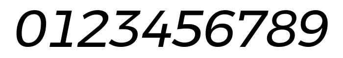 Argentum Novus Italic Font OTHER CHARS