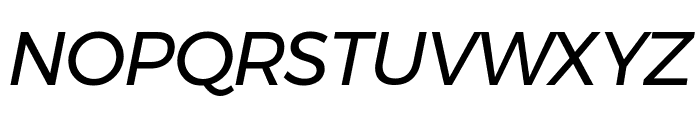 Argentum Novus Italic Font UPPERCASE