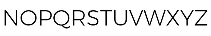 Argentum Novus Light Font UPPERCASE