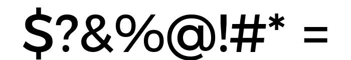 Argentum Novus Medium Font OTHER CHARS