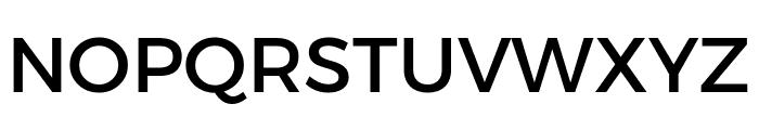 Argentum Novus Medium Font UPPERCASE