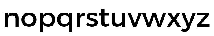 Argentum Novus Medium Font LOWERCASE