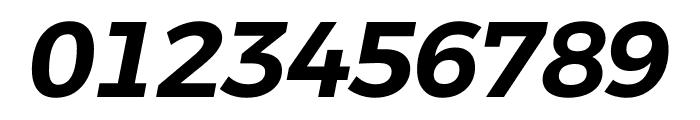 Argentum Novus SemiBold Italic Font OTHER CHARS