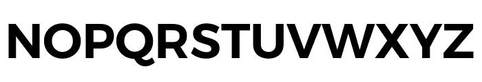 Argentum Novus SemiBold Font UPPERCASE