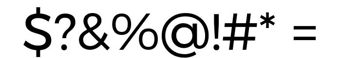 Argentum Novus Font OTHER CHARS