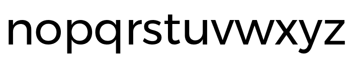 Argentum Novus Font LOWERCASE