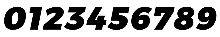 Argentum Sans Black Italic Font OTHER CHARS