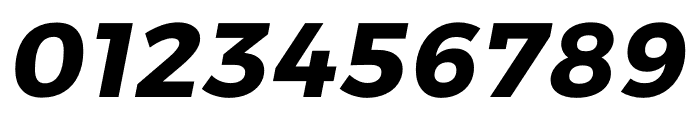 Argentum Sans Bold Italic Font OTHER CHARS