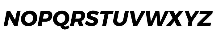 Argentum Sans Bold Italic Font UPPERCASE