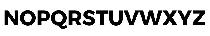 Argentum Sans Bold Font UPPERCASE