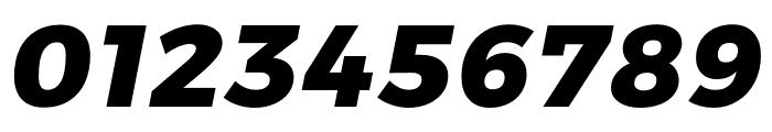 Argentum Sans ExtraBold Italic Font OTHER CHARS