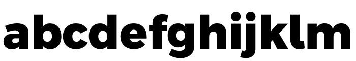 Argentum Sans ExtraBold Font LOWERCASE