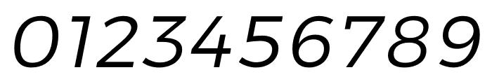 Argentum Sans Light Italic Font OTHER CHARS