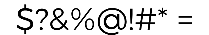 Argentum Sans Light Font OTHER CHARS