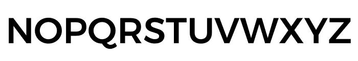Argentum Sans Medium Font UPPERCASE