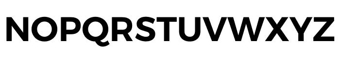 Argentum Sans SemiBold Font UPPERCASE